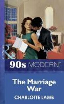 Marriage War (Mills & Boon Vintage 90s Modern)