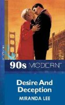 Desire And Deception (Mills & Boon Vintage 90s Modern)