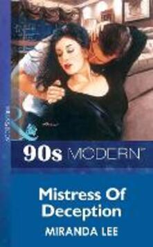 Mistress Of Deception (Mills & Boon Vintage 90s Modern)