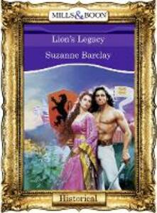 Lion's Legacy (Mills & Boon Vintage 90s Modern)