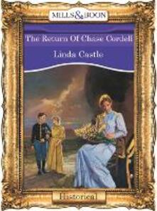Return Of Chase Cordell (Mills & Boon Vintage 90s Modern)