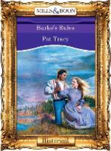Burke's Rules (Mills & Boon Vintage 90s Modern)