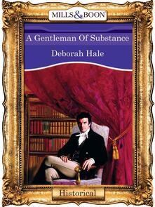 Gentleman Of Substance (Mills & Boon Vintage 90s Modern)