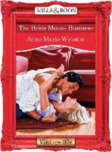 Bride Means Business (Mills & Boon Vintage Desire)