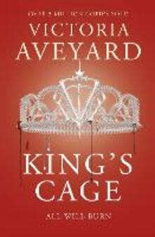 King's Cage: Red Queen Book 3 - Victoria Aveyard - cover