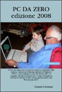 PC da zero - Gianni Crestani - copertina