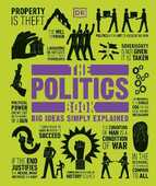 Libro in inglese The Politics Book DK