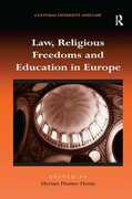 Libro in inglese Law, Religious Freedoms and Education in Europe