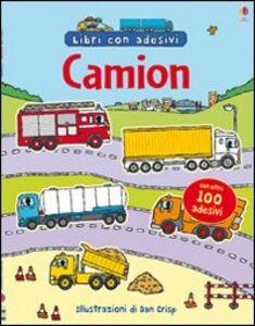 Foto Cover di Camion. Con adesivi, Libro di Dan Crisp, edito da Usborne Publishing