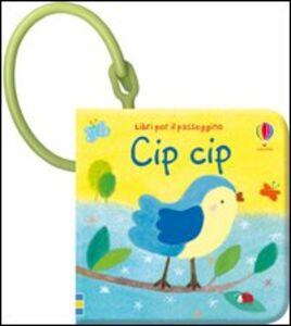 Foto Cover di Cip, cip, Libro di Fiona Watt, edito da Usborne Publishing 0