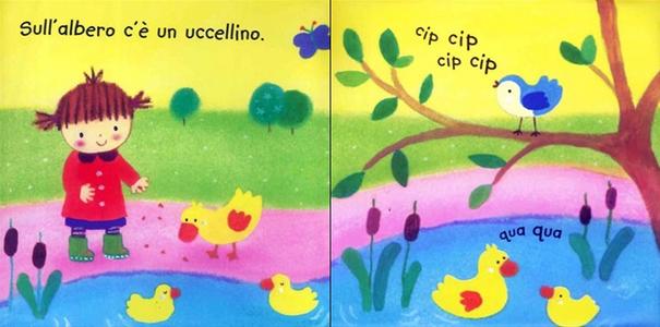 Libro Cip, cip Fiona Watt 1