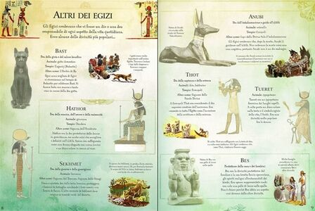 Foto Cover di L' antico Egitto, Libro di Gill Harvey, edito da Usborne Publishing 3
