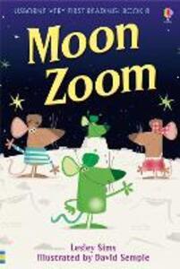 Moon zoom - Lesley Sims - copertina