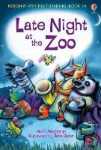 Late night at the zoo - Mairi Mackinnon - copertina