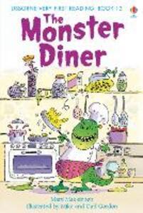 The monster diner - Mairi Mackinnon - copertina