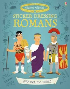 Foto Cover di Sticker dressing: Romans, Libro di  edito da Usborne Publishing