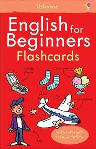 English for beginners flashcards - Susan Meredith - copertina