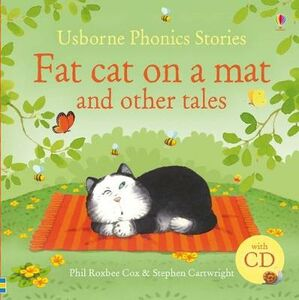Libro Fat cat on a mat and other tales. Con CD