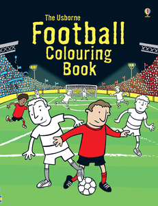 Libro Football colouring book