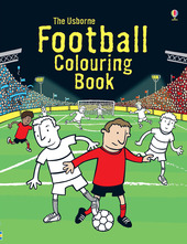 Football colouring book