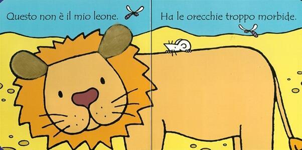 Dov'è il mio leone? Ediz. illustrata - Fiona Watt - 2