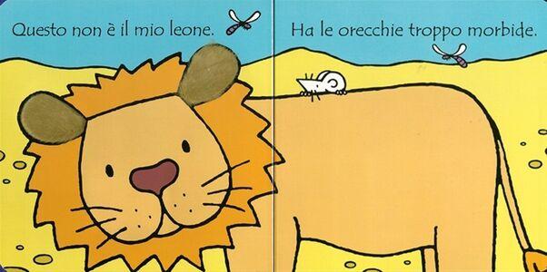 Libro Dov'è il mio leone? Fiona Watt 1