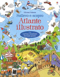 Libro Atlante illustrato Alex Frith 0