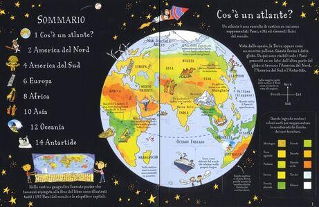 Libro Atlante illustrato Alex Frith 1