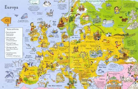 Atlante illustrato. Ediz. a colori. Con Carta geografica ripiegata - Alex Frith - 3