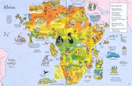 Atlante illustrato. Ediz. a colori. Con Carta geografica ripiegata - Alex Frith - 4
