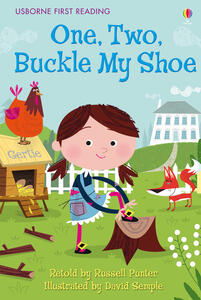 One, two, Buckle my shoe - copertina