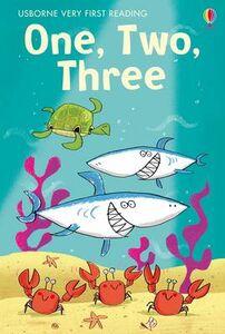 Foto Cover di One, two, three. Very first reading, Libro di  edito da Usborne Publishing