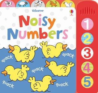 Foto Cover di Noisy numbers, Libro di  edito da Usborne Publishing