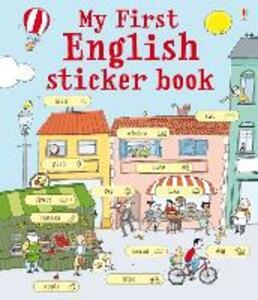 My first english sticker book. Con adesivi - copertina