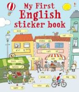 Libro My first english sticker book. Con adesivi