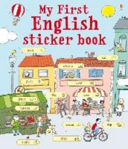 Libro My first english sticker book. Con adesivi