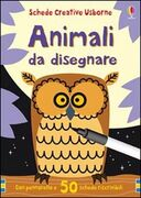 Libro Animali da disegnare. Con gadget Fiona Watt Non Figg