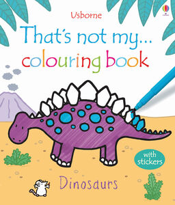 Libro That's not my colouring... book. Dinosaurs