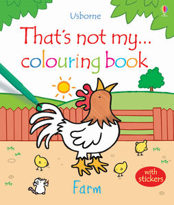 Libro That's not my colouring... book. Farm