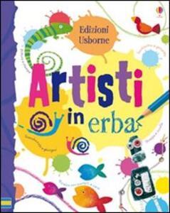Artisti in erba - Fiona Watt - copertina