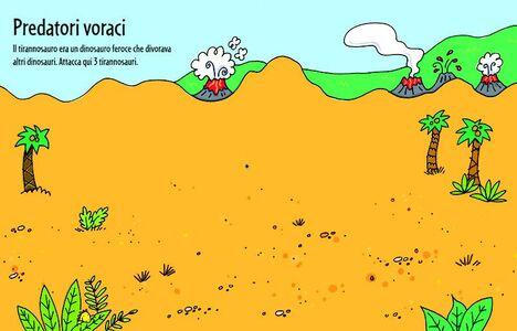 Foto Cover di Dinosauri, Libro di Sam Taplin,Stacey Lamb, edito da Usborne Publishing 1
