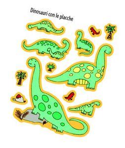 Foto Cover di Dinosauri, Libro di Sam Taplin,Stacey Lamb, edito da Usborne Publishing 2