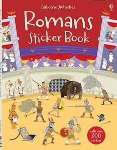 Libro Romans sticker book