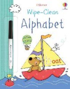 Libro Wipe-clean alphabet