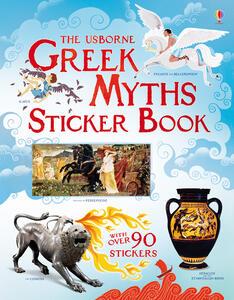 Greek myths sticker book - Rosie Dickins - copertina