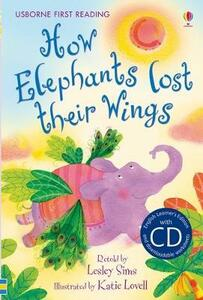 How elephants lost their wings - Lesley Sims - copertina