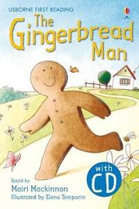 The gingerbread man. Con CD Audio - Mairi Mackinnon - copertina
