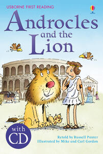 Androcles and the lion - Russell Punter - copertina
