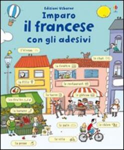 Imparo francese. Con adesivi - Meredith Sue - copertina
