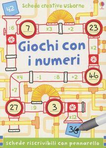 Libro Giochi con i numeri Sarah Khan , Simon Tudhope